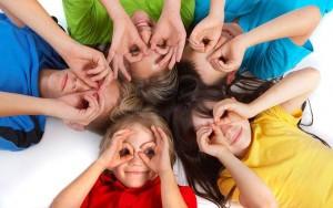 Colegio Guadalmar, niños felices