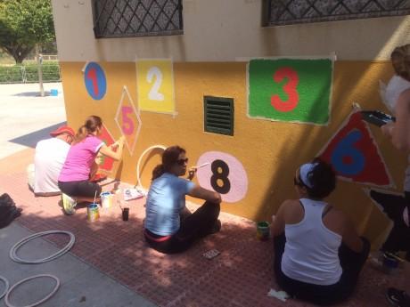Proyecto pinta tu patio  13-14