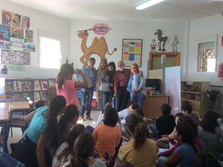 Inauguración de la Biblioteca Escolar 14/15